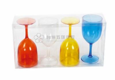 Serie de set de copa de vino 4pcs