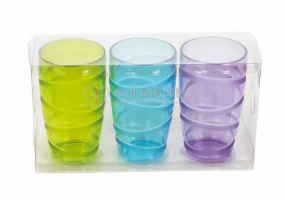 Serie de vasos de 3 piezas
