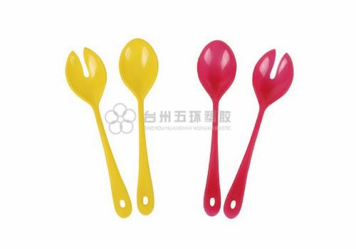 Ensalada tenedor y cuchara